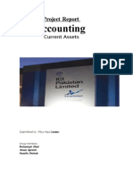 Project Report Accounting