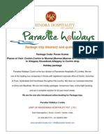 Paradise Holidays