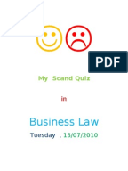 Business law exam essay questions