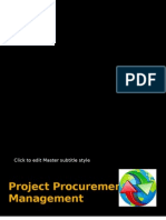 Project Procurement Management 2