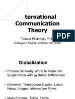 International Communication Theory