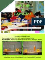 Volume e capacità - Percorso didattico classe 5a