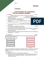 procesultehnologicdeasamblare_testdeevaluaresumativa