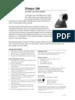 Seiko Label Printer Slp240