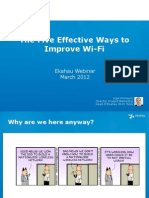 Webinar Ekahau 5 Ways to Improve WiFi