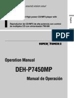 Pioneer Deh p7450mp