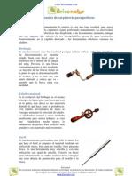 Herramientas manuales de carpintería para Perforar