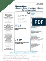 Semanario Católico Alfa y Omega. nº 779. 28 Marzo 2012
