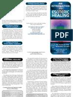 What is Esoteric Healing Brochure