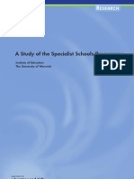 A Study of Specialist School