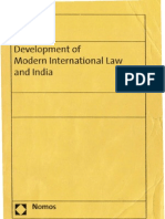 Development of Modern International Law and India R.P.anand