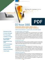 Minicom DS Vision 3000 Sehr Gute Prinzipskizze