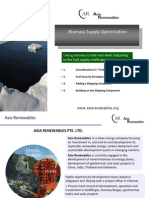 Biomass Supply Optimization