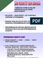 4.Perkembangan Kognitif Bahasa