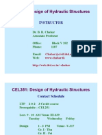 CEL351_hydrualic Structure Design