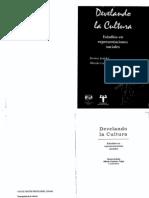 Jodelet Denise - Develando La Cultura Estudios en Representaciones Sociales