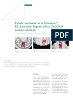 Clinical Case Rc Bone Level Implant With a Cadcam