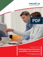 Prozeus Brochure Katalogaustauschstandards