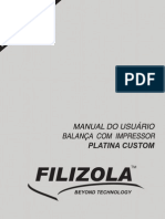 Manual Usuario Filizola Platina