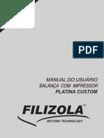 Manual Usuario Filizola Platina