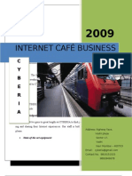 Cyber Cafe Business Plann
