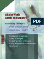 A Safer World