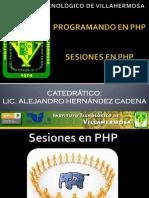 Sesiones en PHP 2012