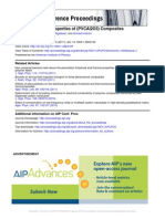 The DC Electrical Properties of (PVCAl2O3) Composite