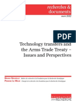 Technology transfers and the Arms Trade Treaty – Issues and Perspectives