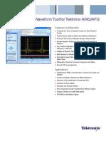 ArbExpress 2.1 Waveform Tool for Tek_AWG-AFG - 76W17871-3