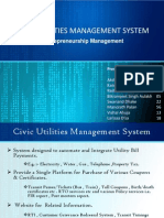Civic Utilities Management System