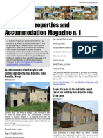Le Marche Properties and Accommodation Magazine n. 1