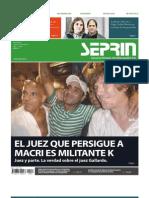 Ejemplar de Seprin Que Gallardo Prohibio Su Circulacion