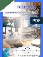 PGET 2012 Brochure