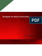 Blood Conservation