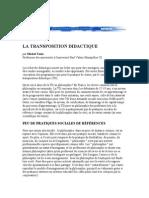 6857517 La Transposition Didactique