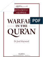 "Joel Hayward, ""Warfare in the Qur'an"" (Royal Islamic Strategic Studies Centre in Amman, Jordan, 2012)"