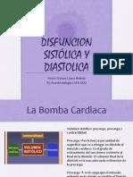 disfunción sistólica y diástolica.