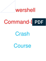 Powershell Crash Course ZedShaw 68 Pages