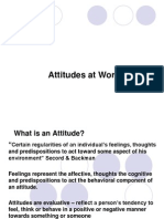 3. Attitudes at Work