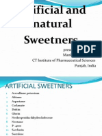 Sweetners by Mankaran Singh