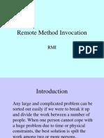 Remote Method Invocation by Kamalakar Dandu