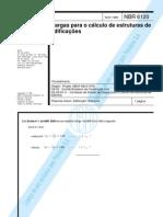 NBR 6120 - Cargas Para o Cálculo de Estruturas de Edificações