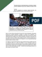 ACTIVIDADES COMPLEMENTARIAS    A   LA CAMPAÑA NACIONAL
