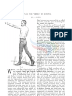 (1891) A Plea for Style in Boxing- A. Austen