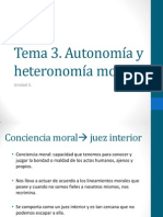 Moral autónoma y heterónoma
