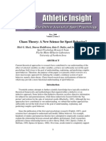Chaos Theory - A New Science for Sport Behavior