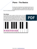 Beginners Piano Chord Guide