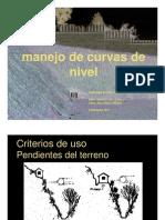 Manejo de Curvas de Nivel_2011