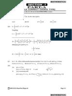Final Test Xiii(Xyz) Solutions Paper-1